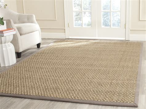 seagrass area rug safavieh fiber seagrass grey area rugs