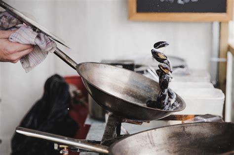 gambar panci jalan makanan memasak penggorengan