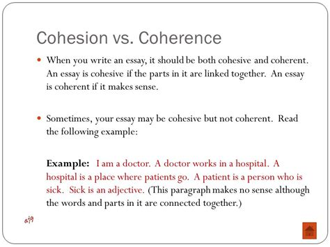 coherent thesis foundations of writing ppt