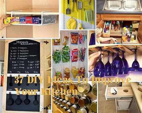 diy hacks 15 diy kitchen ideas for organized culinary creations