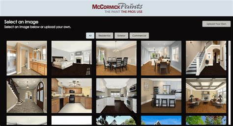 virtual house paint visualizer options exterior