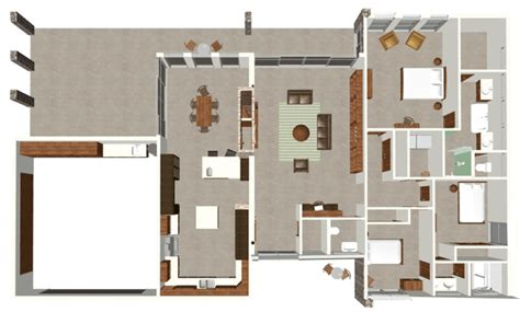modern family house plans modern house plan modern cabin plans for arizona modern