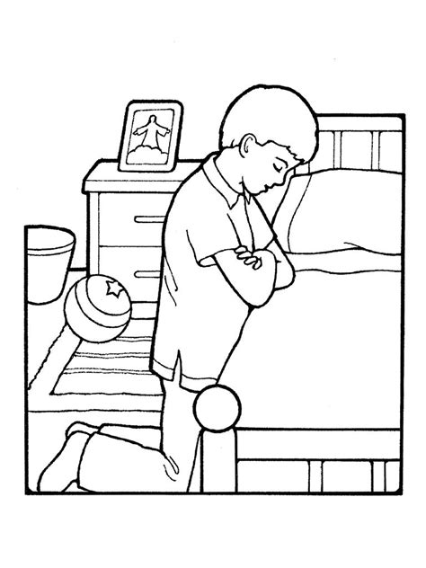 praying coloring pages children praying coloring page coloring home