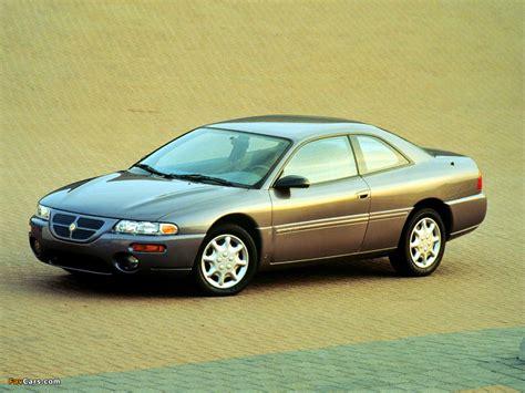 97 Chrysler Sebring by Chrysler Sebring Coupe 1995 97 Wallpapers 1024x768