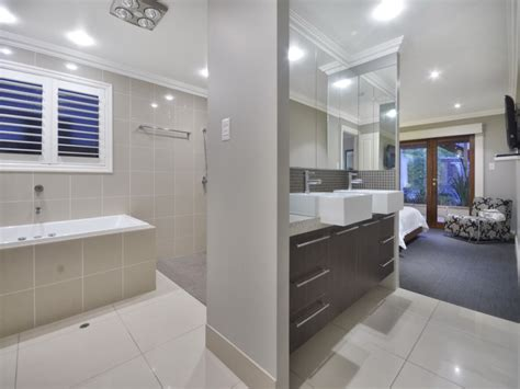 marble in a bathroom design from an australian home granite in a bathroom design from an australian home
