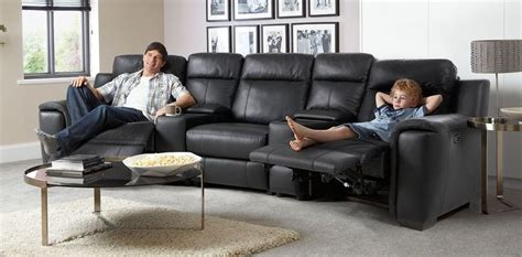 dfs cinema sofa theatre corner electric recliner 2147 for home cinema room
