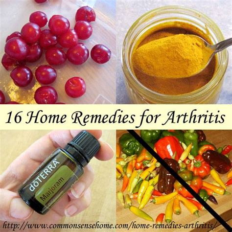 16 home remedies for arthritis herbs info