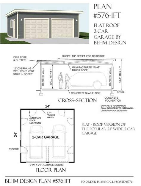 flat roof plan 17 images about garage plans by behm design pdf plans