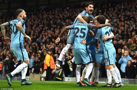 Playmaker Manchester City city in pep guardiola s team brush aside
