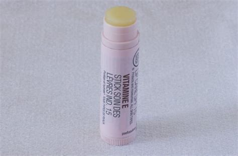 The Shop Vitamin E Lip Care product review the shop vitamin e lip care spf15