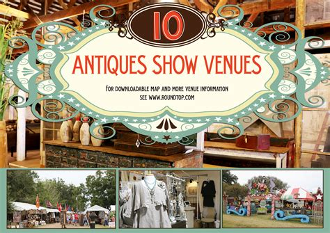 ten round top antiques show venues round top