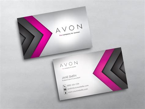 Avon Business Cards Templates Downloads avon business cards