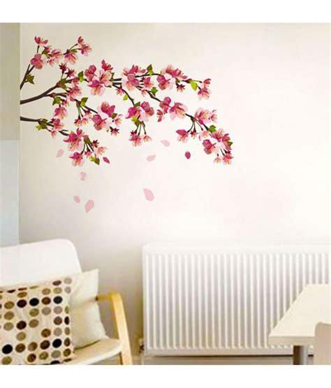 cherry blossom wall sticker stickerskart wall stickers wall decals cherry blossom 5726 buy stickerskart wall