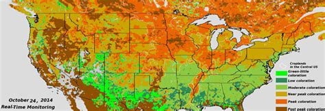 maryland foliage map fall foliage from viirs articles news cics md