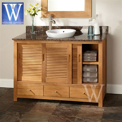 Teak Bathroom Furniture 21 Simple Teak Bathroom Furniture Eyagci