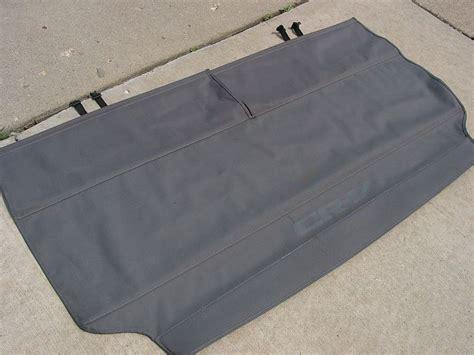 crv cargo cover honda tech