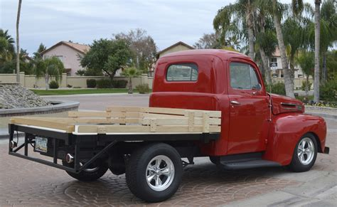 pickup truck bed 1948 ford f1 stake bed pickup truck custom street hot rod