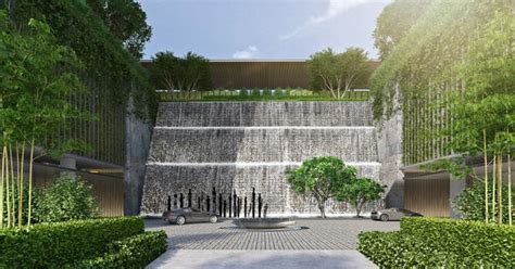 Residential Plan hindustan mills mumbai landscape scda