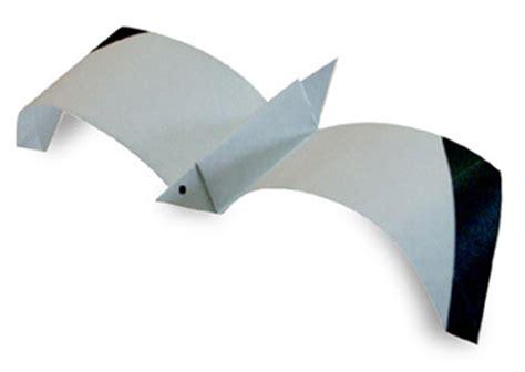 origami gabbiano 折り紙 鳥の折り方 作り方 鶴 ふくろう ペリカン ツバメなど naver まとめ