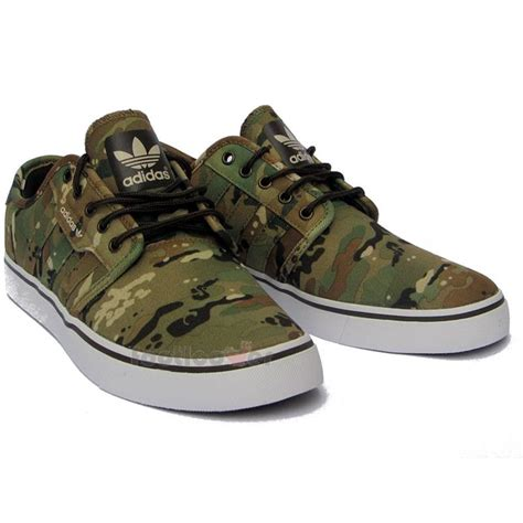 mens camo sneakers shoes adidas seeley c75813 s moda sneakers new s