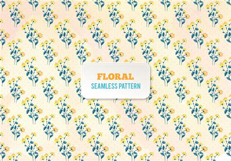 Watercolor Floral Pattern Vector Free Download | free vector watercolor floral pattern download free
