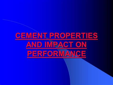 cement ppt themes free download presentation on cement properties and impact on