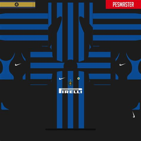Inter Milan 06 inter 05 06 kits for pes18 by iv 225 n ignacio pes patch