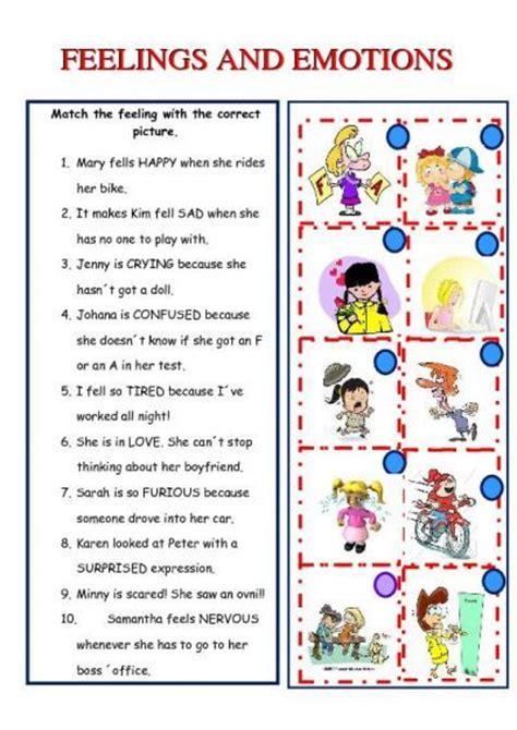 Feelings Worksheet by Feelings And Emotions Worksheet Islcollective Free