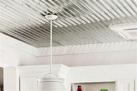 sheet metal ceilings 16 metal ceilings smart cottage style home southern