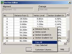 civil 3d section editor the civil 3d experience surface editing using section