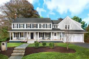 4 Bedroom Ranch Style House Plans exterior enhanced after the lexington colonial before