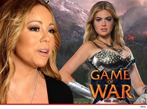 kate upton s game of war fire age commercial ups the mariah carey i m the new kate upton in game of war