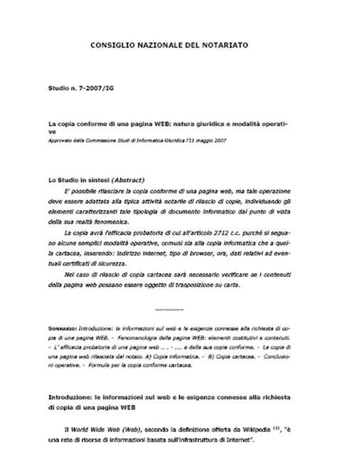Copia autentica di pagina web