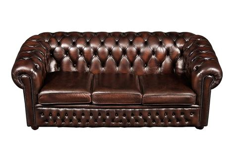 Brown Leather Chesterfield Sofa Brown Leather Chesterfield Sofa Home Furniture Design