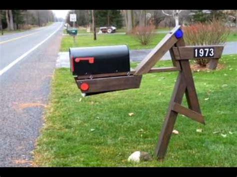 swinging mailbox mailbox swing youtube