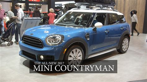 Mini Auto Youtube by 2017 Mini Countryman At Canadian Int L Auto Show Youtube