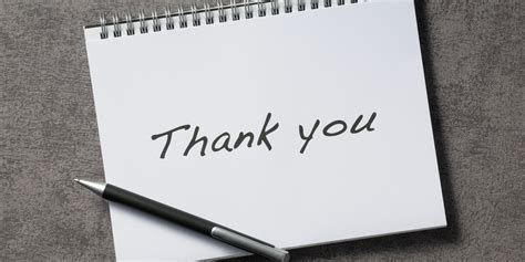 Thank You Note Your How Thank You Notes Boost Your Business Huffpost