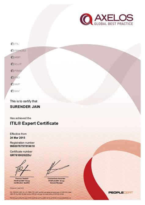 design expert 7 1 3 itil 174 expert certificate