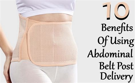 amazing benefits   abdominal belt post delivery