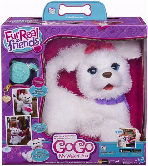 speelgoed hond die loopt en blaft bol furreal friends go go mijn wandelende hond