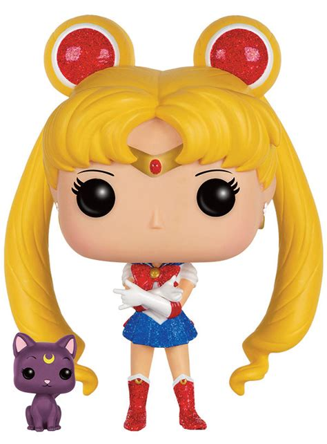 Funko Pop Sailor Moon With Bishoujo Senshi Sailor Moon sailor moon sailor moon with glitter funko pop vinyl figure pop addiction funko pop