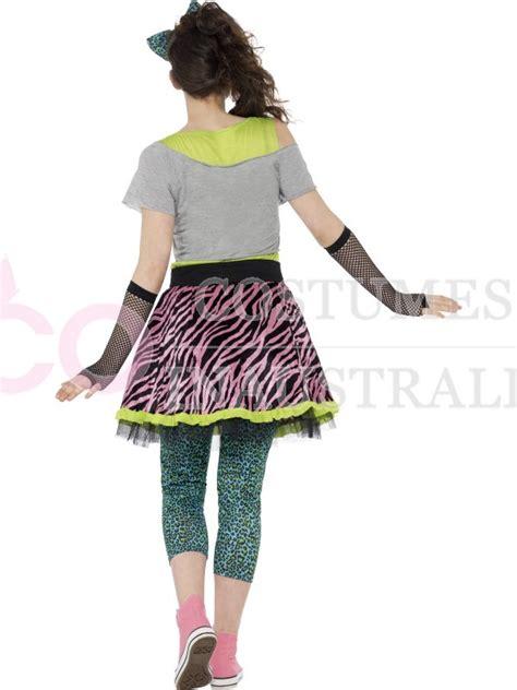 80s pop tart costume teen wild child 80s icon pop star rock diva tart madonna