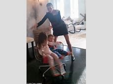 Ivanka Trump calls on her kids to help her with a morning ... Ivanka's