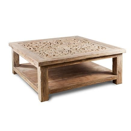 White Washed Wood Coffee Table White Washed Teak Wood Coffee Table Asian Accents