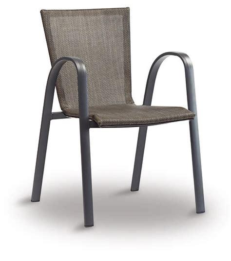 sedie alluminio bar sedia in alluminio e textilene per bar e ristoranti