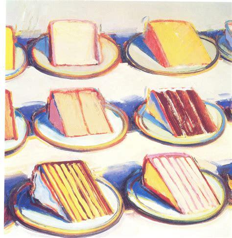 cake painting ludwig mies der rohe wayne thiebaud cakes