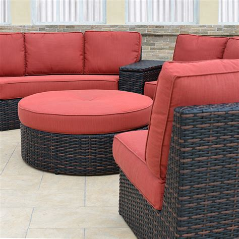 Curved Patio Sofa by Patio Renaissance Mar Seating Curved Sectional