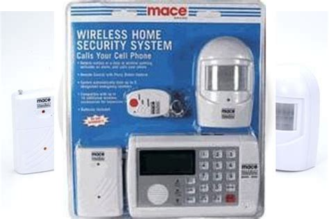 mace wireless home security system by foronia
