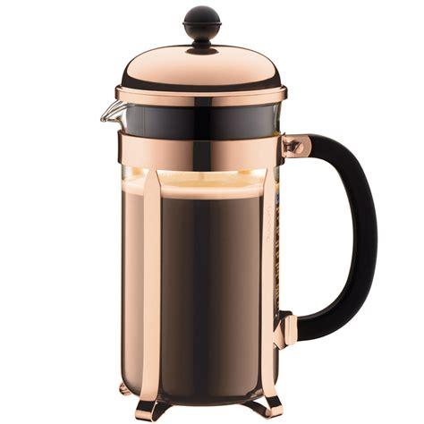 Bodum Chambord 8 Cup Coffee Maker Copper   IWOOT