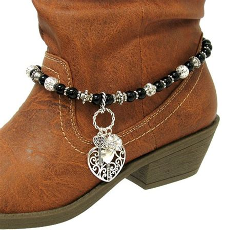 filigree charm western cowboy boot jewelry